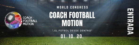 Entrada congreso coach football motion