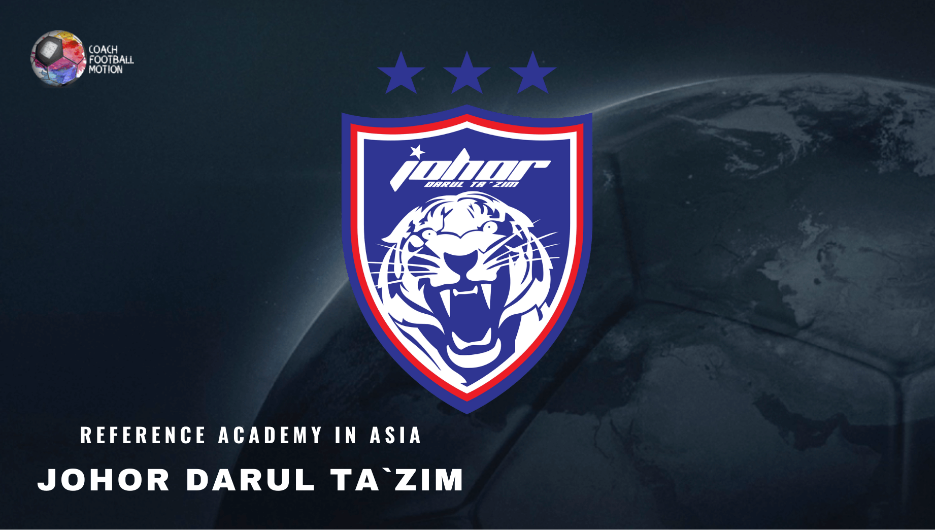 Johor Darul Ta´zim FC, in Coach Football Motion.