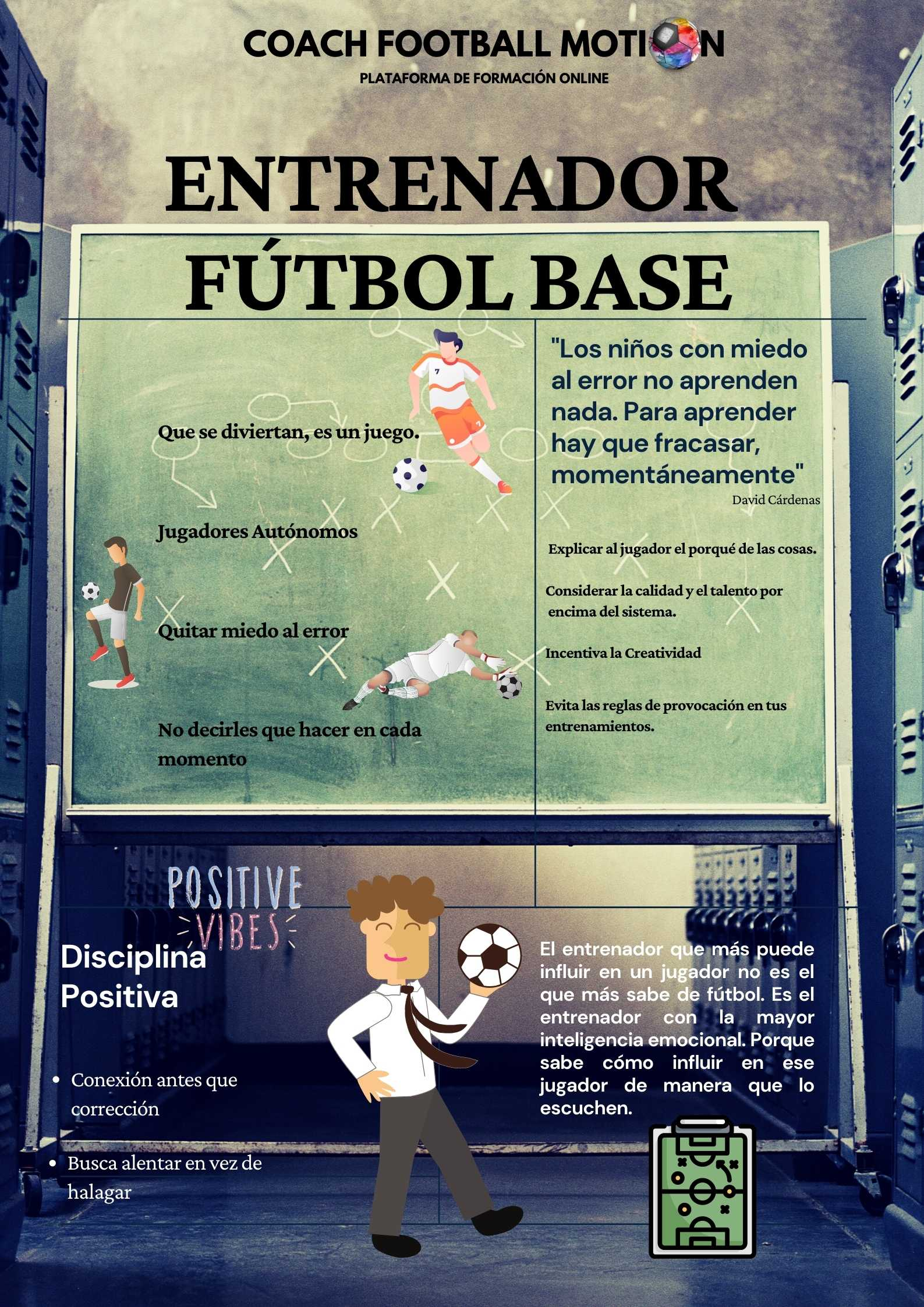 Infografías fútbol logo