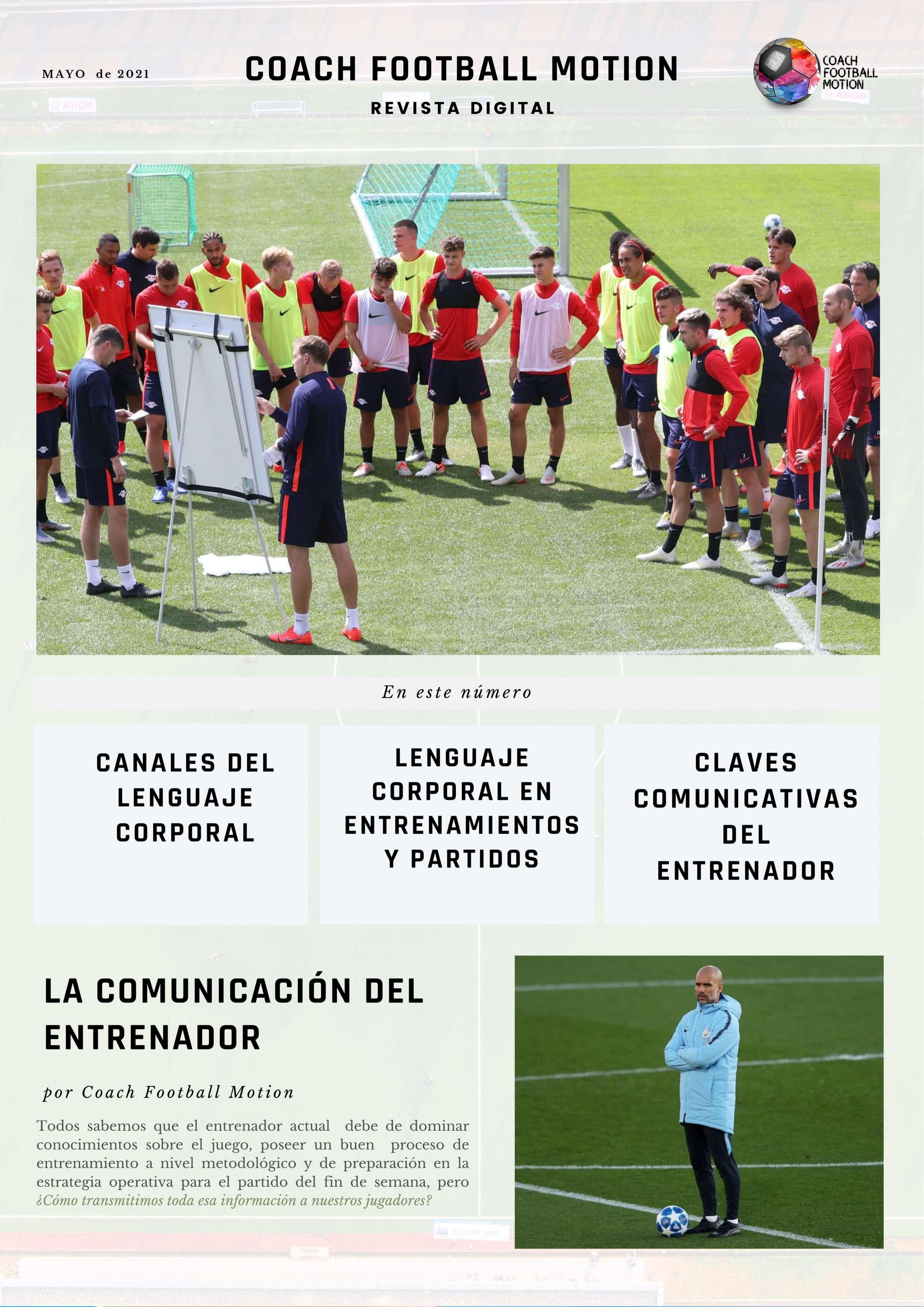 Lenguaje corporal del entrenador